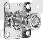 4240-132  BNC Male QC Connector, Bird Electronics