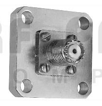 4240-346 Mini-UHF Female QC connector