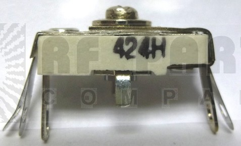 424 Trimmer Capacitor, compression mica, 25-150 pf
