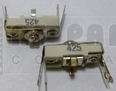 425 Trimmer Capacitor, compression mica, 40-200 pf