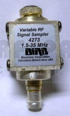 BIRD4273  1.5-35 MHz, THRULINE® Variable RF Signal Samplers , No connectors, Bird Electronics