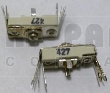 427 Trimmer Capacitor, compression mica, 75-300 pf
