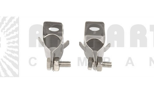 """43211A - Butterfly Hanger for 1/2"""" or 3/8"""" Coaxial Cable"""