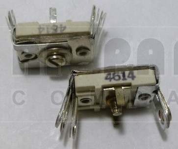 4614 Trimmer Capacitor, compression mica, 380- 1300 pf