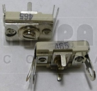 465 Trimmer Capacitor, compression mica, 75-380 pf
