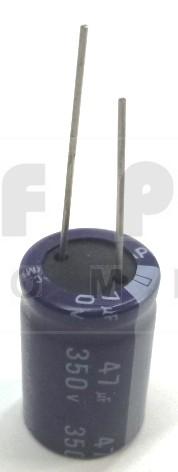 47-350R Electrolytic Capacitor, Radial Lead, 47 uf 350v, MFG: Teapo