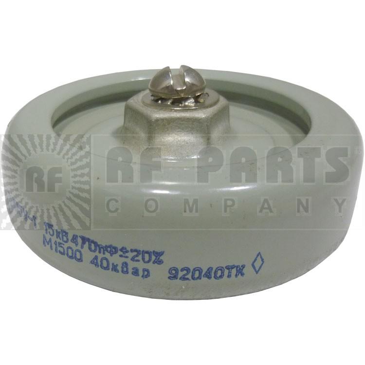 470-15 - 470pf Doorknob Capacitor 15kv