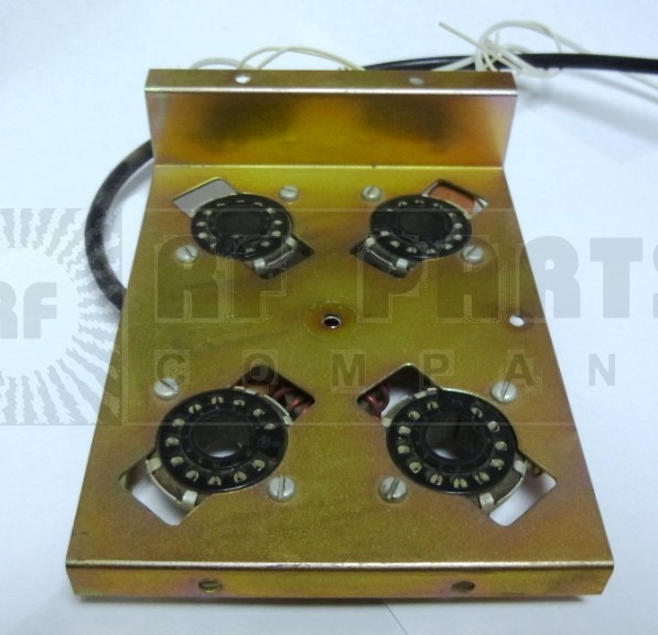 4SOCKETASSEMBLY Tube Socket Assembly with 4-12 pin sockets