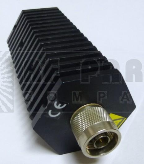 50-A-MFN-10 Attenuator, Type-N, 50 Watt, 10dB, DC-2.4 GHz, Bird