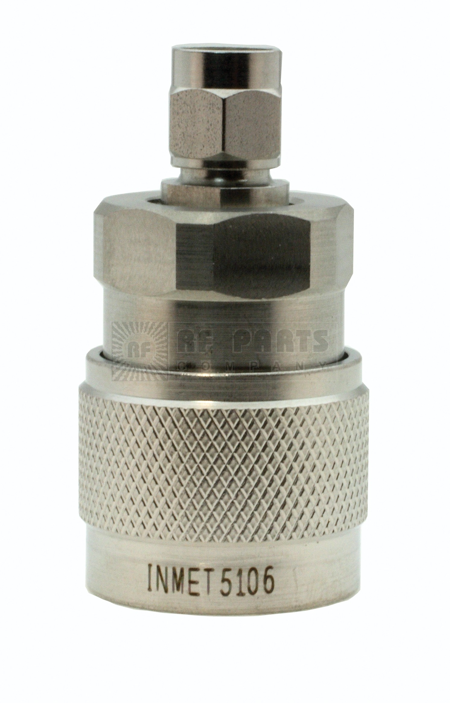 5106 Adapter, sma(male)--type-n(male), 0-18 ghz, precision 1.12:1, AERO