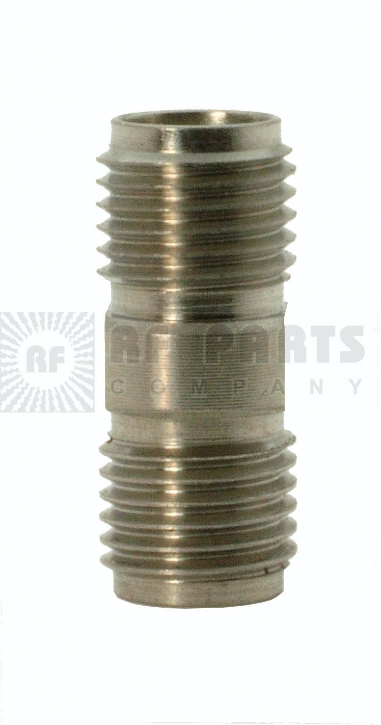 5163 Adapter, sma(female)--(female), 0-26.5 ghz, stainless, AERO