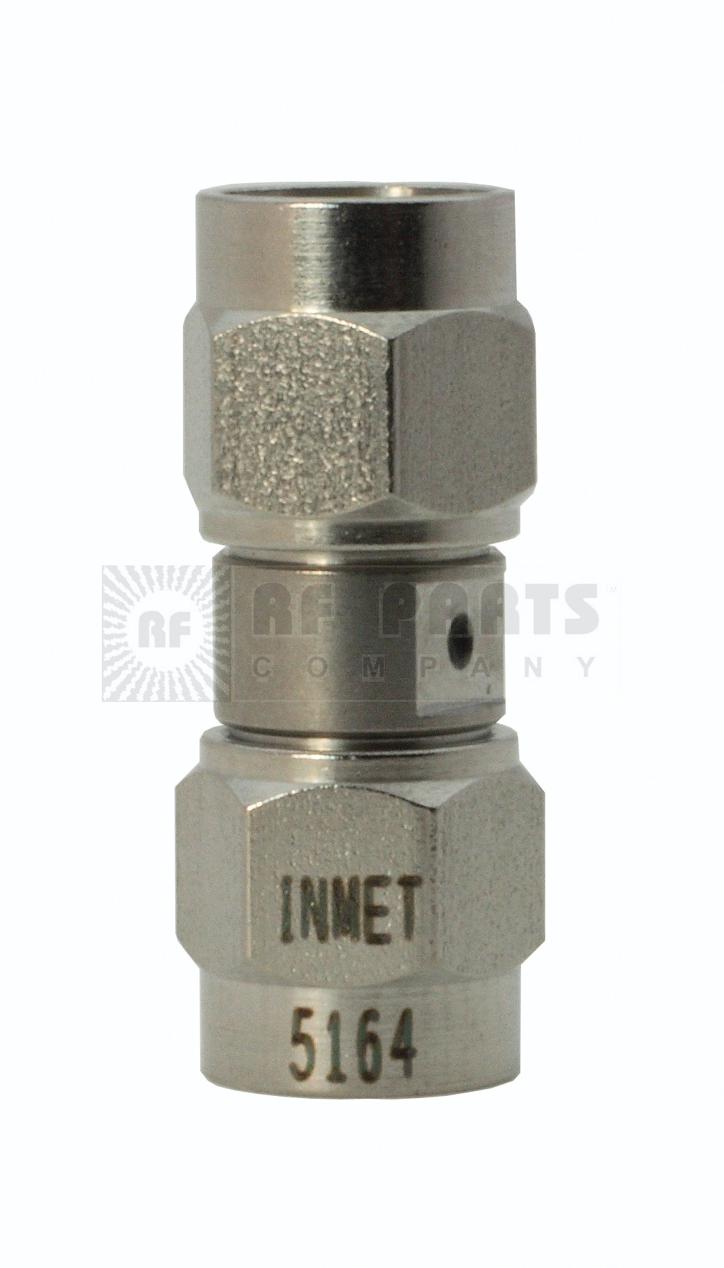 5164 Adapter, sma(male)--(male), 0-26.5 ghz, stainless, AERO