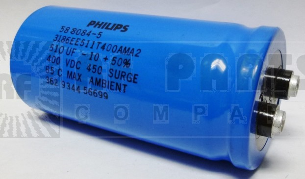 58-8084-5 Capacitor 510 uf 400v, Philips