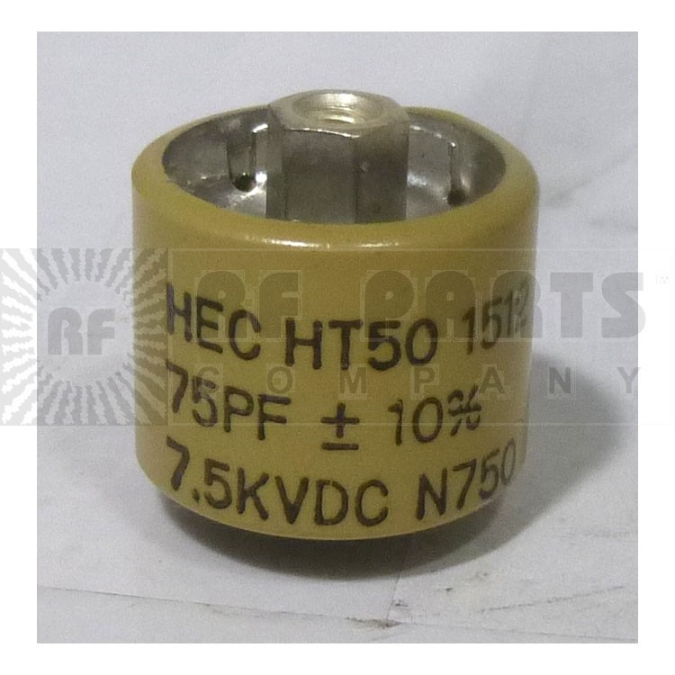 580075-7  Doorknob Capacitor 75pf 7.5kv