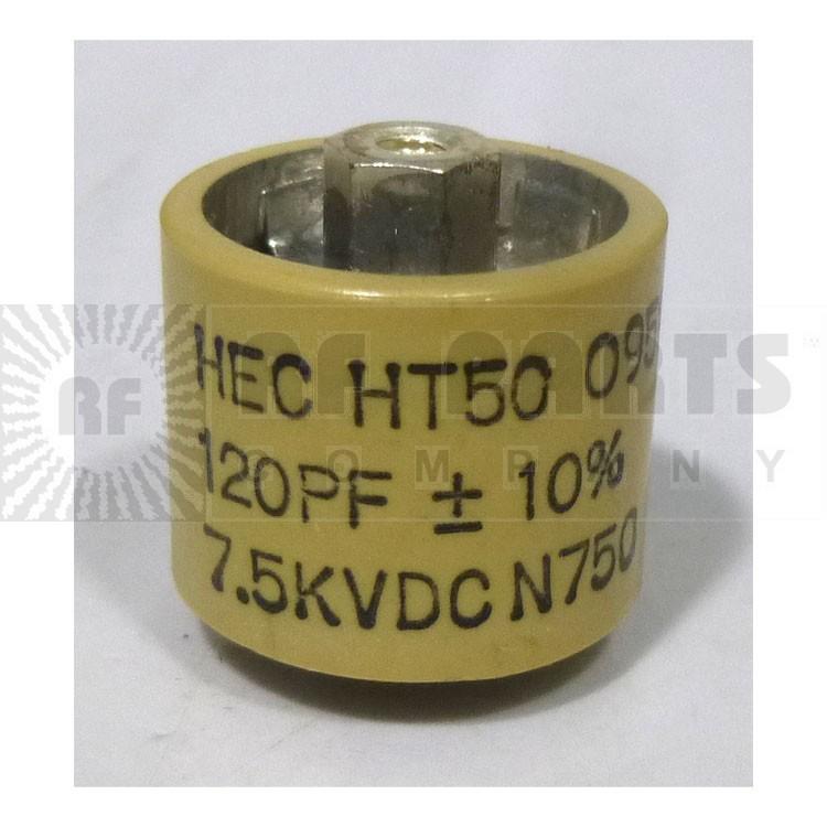 580120-7 Doorknob, 120pf 7.5kv 10%