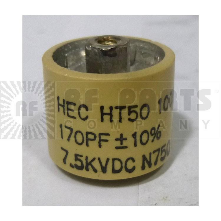 580170-7 Doorknob, 170pf 7.5kv
