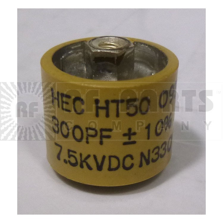 580300-7 Doorknob, 300pf 7.5kv 10%