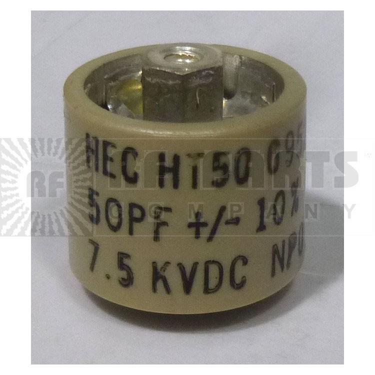 580050-7 Doorknob, 50pf 7.5kv 10%,