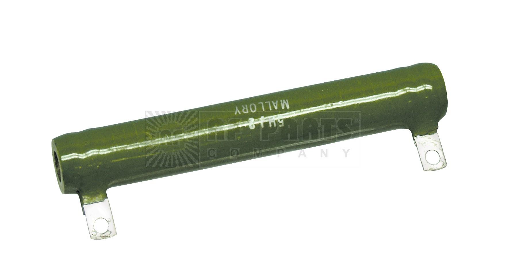 5HJ2 Resistor, 2ohm 50w mallory