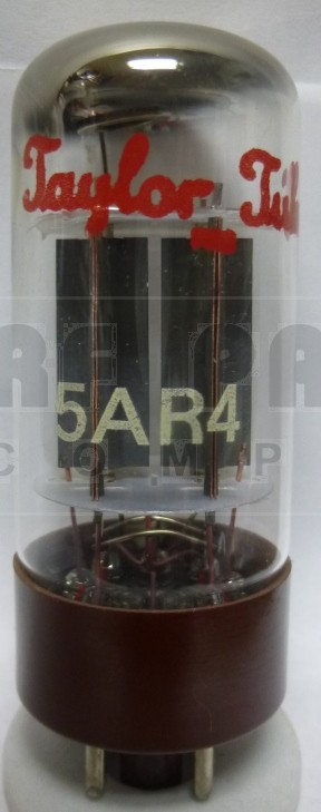 5AR4 - Taylor Tube, Full Wave High-Vacuum Rectifier / GZ34