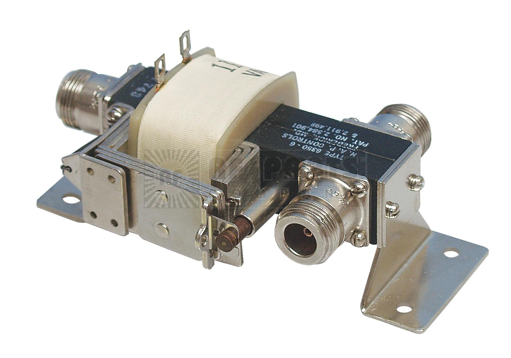 6350-6 Relay, coaxial, spdt, type n