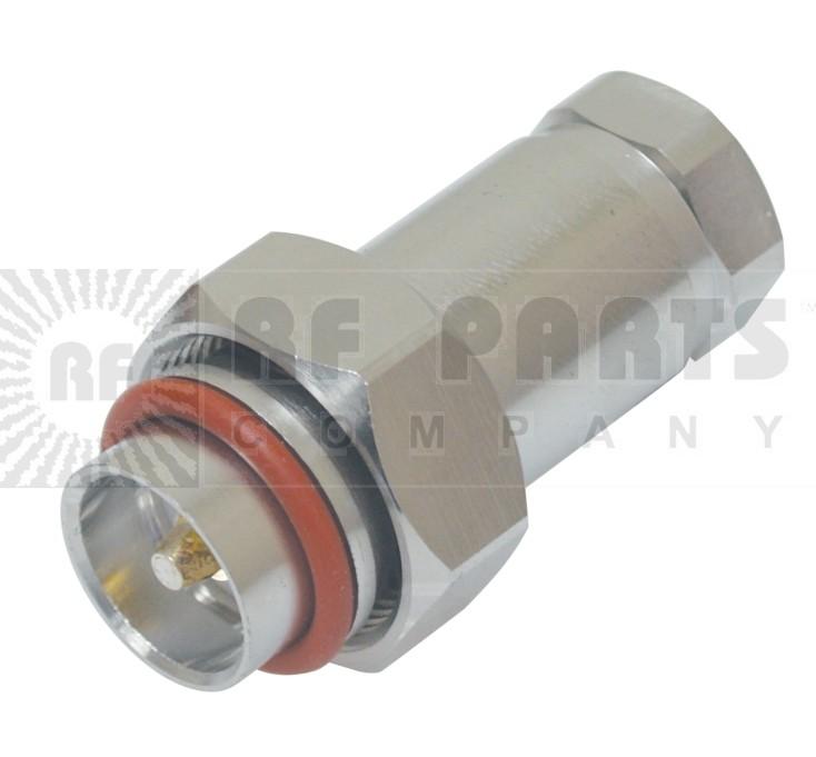 716M12S 7/16 DIN Male Connector, FSJ4-50B, Konectz