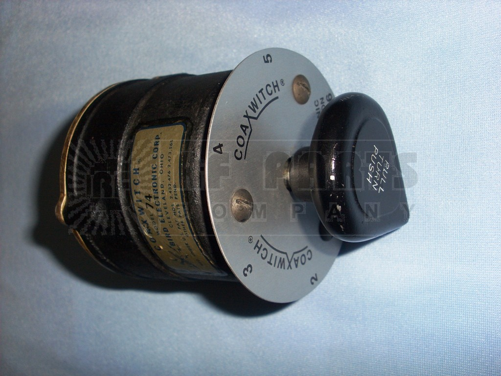 BIRD74-2 Coaxial Switch, Bird (Clean Used)