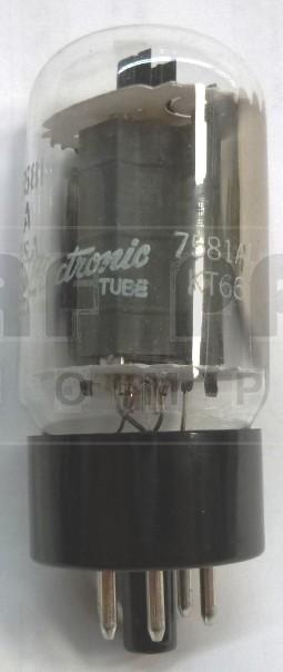 7581A/KT66 Tube, Beam Power Amplifier, US brand