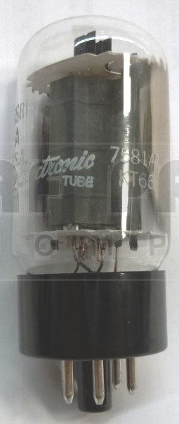 7581A/KT66-MP-US  Tube, Matched pair, Beam Power Amplifier, US brand