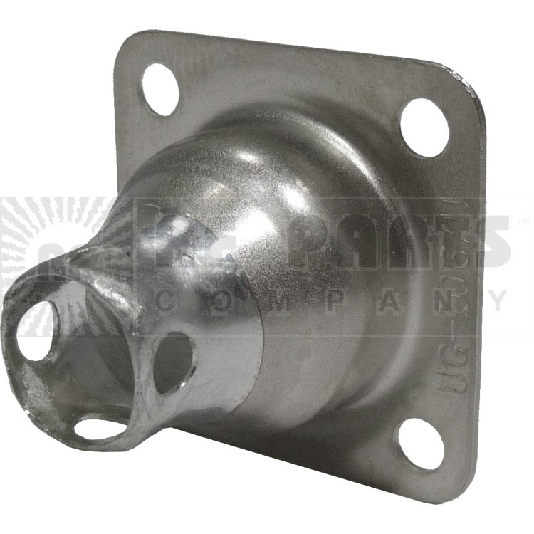 83-1H 4 Hole Flange Hood for 83-1R or standard SO239 Chasis Connector (UG106/U), APL/RF