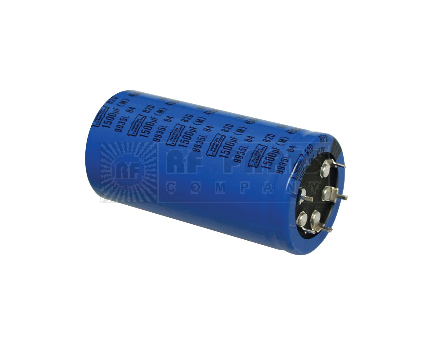 82D1500-450 Capacitor, Electrolytic, 1500uf, 450v, Chemicon