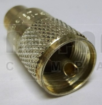 83-1SP-1 UHF Male Solder Connector (PL259),  Straight, Knurled Nut,  USA