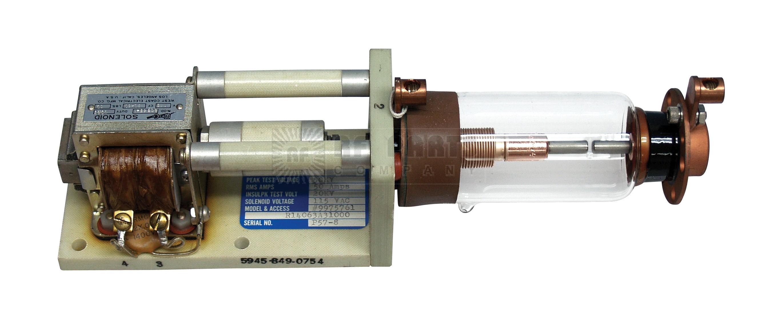 9975761 Vacuum relay, jenning