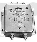 F1200DD30 Filter, rfi 30amp 115vac