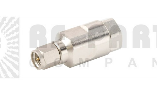F1TSM-C SMA Male Connector, FSJ1-50 (Good to 6 GHz)