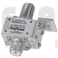 IS-B50HU-C0  Polyphaser Lightning Protector, W/UHF female Connectors, 1.5-700 mhz, High Power, Polyphaser