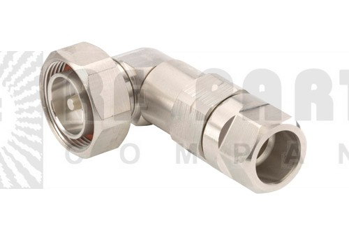 L4DR-PS 7/16 DIN Male, Right Angle, LDF4-50A