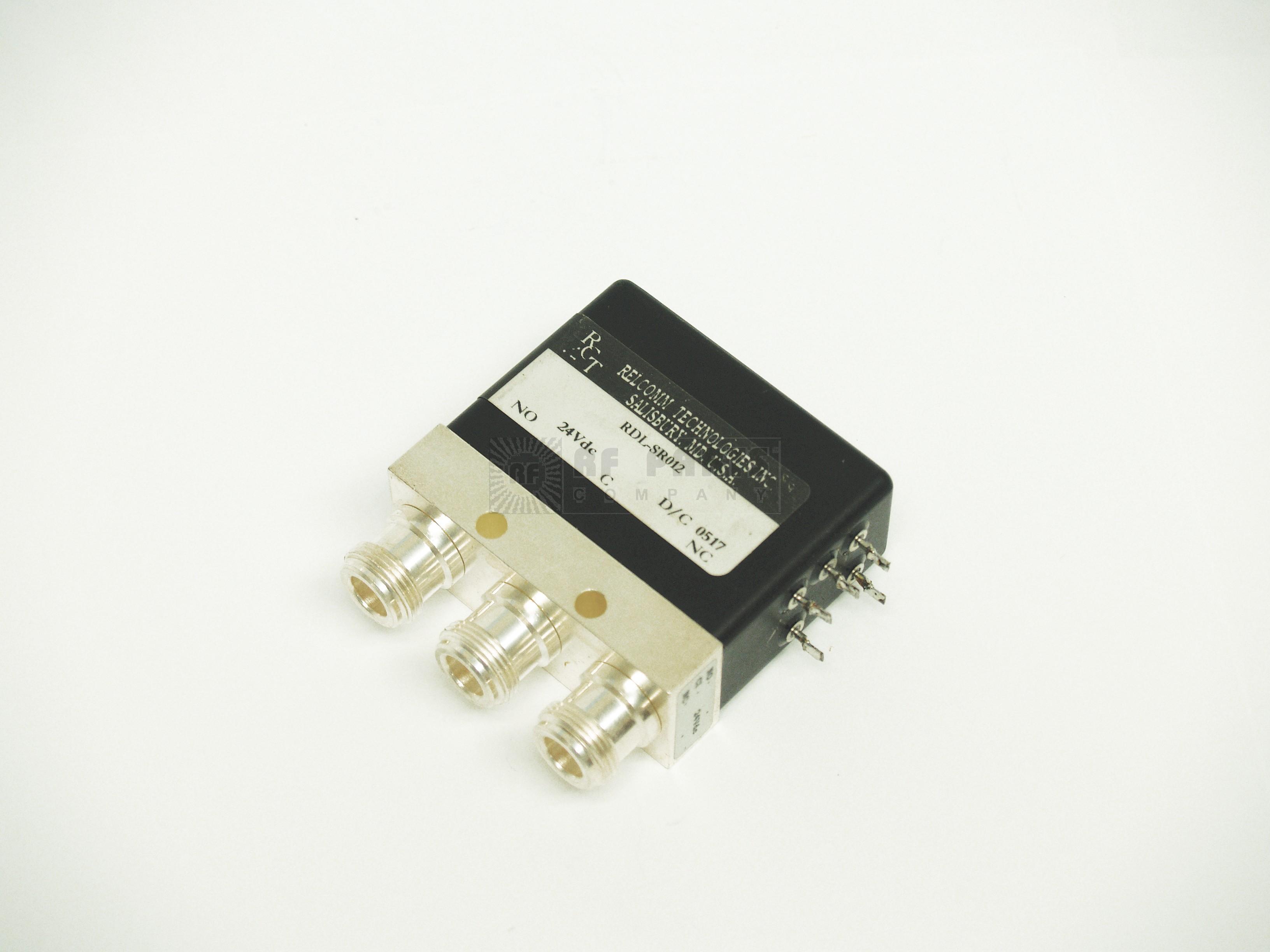 RDL-SR012 Relay, coaxial spdt type-n 20-28vdc