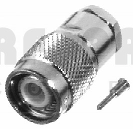 RFT1201-1P TNC Male Clamp Connector, Proflex, RFI