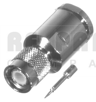 RFT1201-SI TNC Male Clamp Connector, For lmr400/9913, RFI