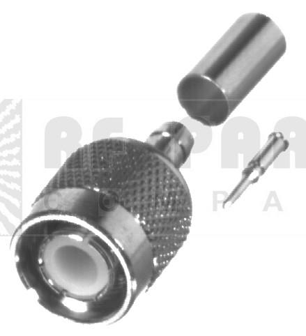 RFT1202-C1 TNC Male Crimp Connector, RFI