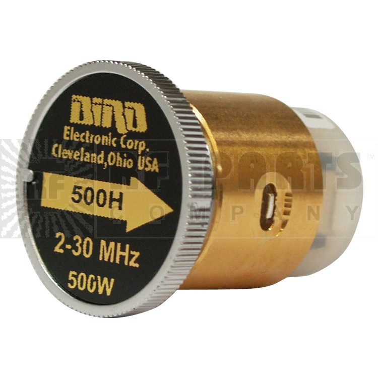 BIRD500H-3 - Bird Element 2-30 mhz 500 watt (Used Condition)