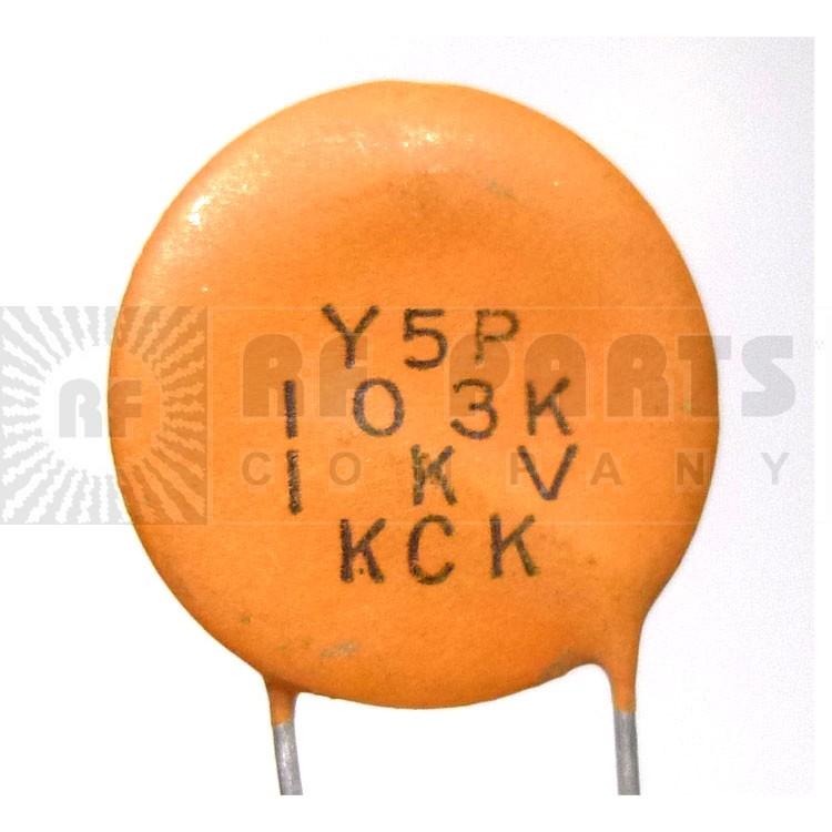C103-1KV-CL Capacitor, disk .01uf 1kv