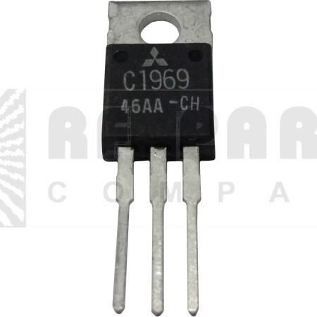 2SC1969  Transistor, Mitsubishi