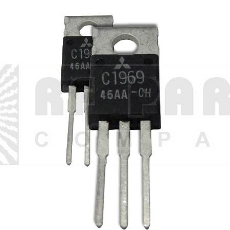 2SC1969MP Transistor, Matched Pair, Mitsubishi