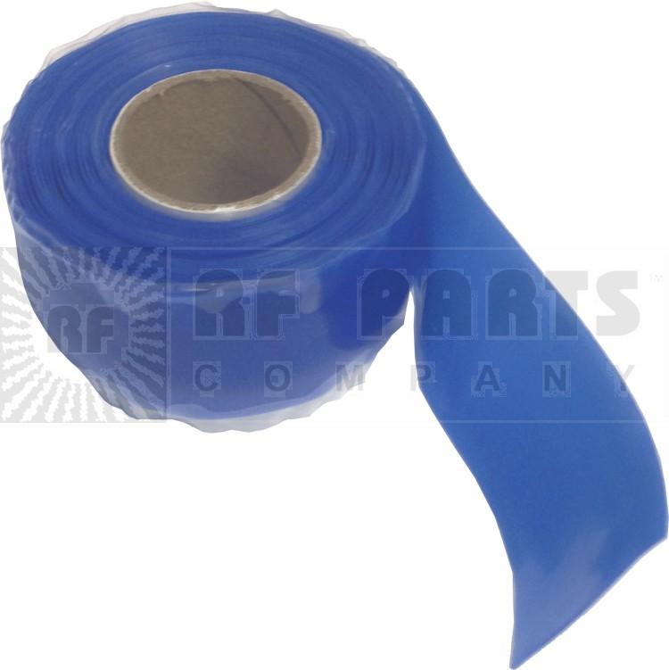 CW10BLUE Silcone WeatherProofing Tape,  Blue, 10 feet