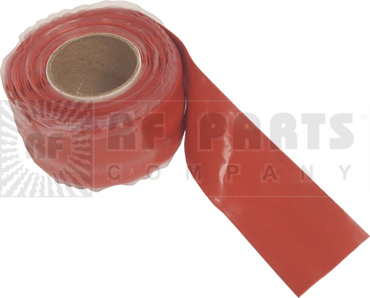CW10R Silcone WeatherProofing Tape,  Red, 10 feet