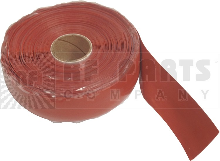 CW36R Silcone WeatherProofing Tape,  Red, 36 feet