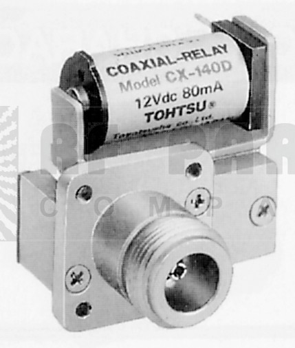 CX140D Coax Relay, SPDT, Type-N Female Connector, Tohtsu