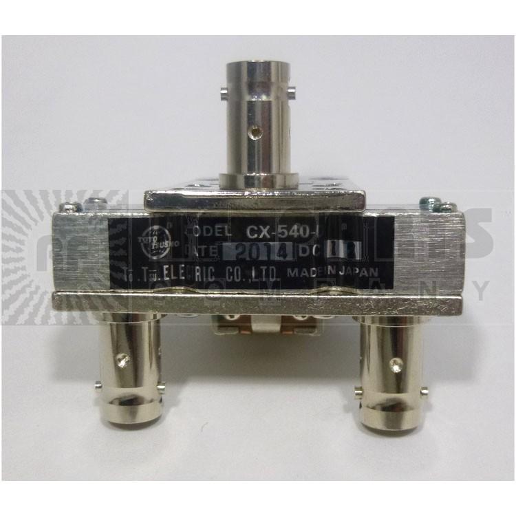CX540D  Coaxial relay, SPDT,  3 BNC Female